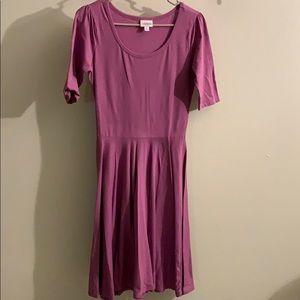 Simple purple dress